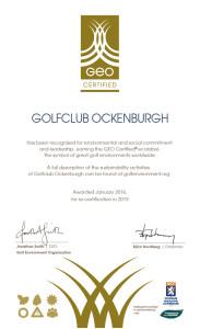 GCO GEO-certificaat 2016-01